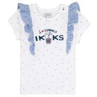 Abbigliamento Bambina T-shirt maniche corte Ikks HILONA Bianco