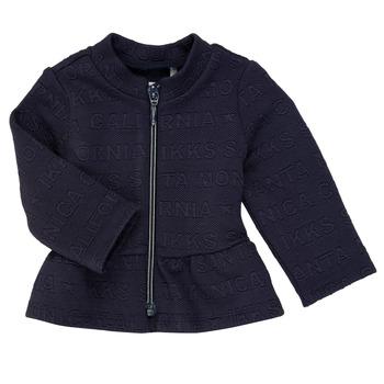 Abbigliamento Bambina Gilet / Cardigan Ikks ANE Marine