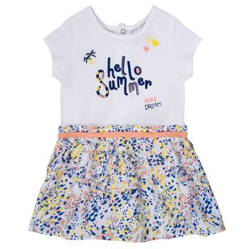 Abbigliamento Bambina Abiti corti Ikks NIKLO Bianco