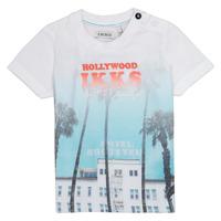 Abbigliamento Bambino T-shirt maniche corte Ikks JOSIANE Bianco