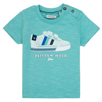 Abbigliamento Bambino T-shirt maniche corte Ikks MARIA Turquoise
