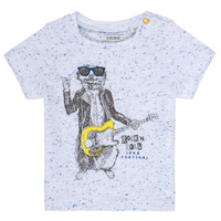 Abbigliamento Bambino T-shirt maniche corte Ikks MARIO Bianco