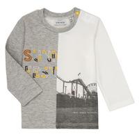 Abbigliamento Bambino T-shirts a maniche lunghe Ikks MAELINO Grigio