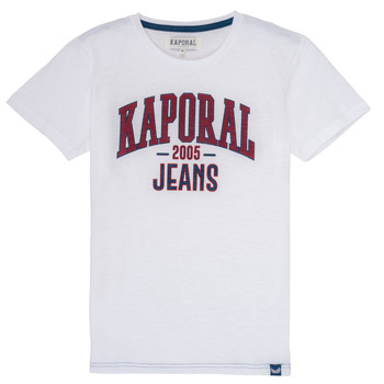 Abbigliamento Bambino T-shirt maniche corte Kaporal ERNIE Bianco
