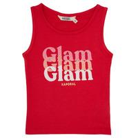 Abbigliamento Bambina Top / T-shirt senza maniche Kaporal JUIN Rosso