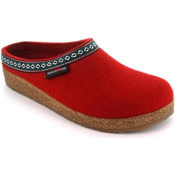 Scarpe Donna Pantofole Haflinger HF-FRANZL-red-D ROSSO