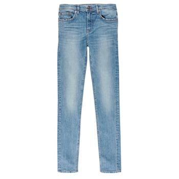 Abbigliamento Bambino Jeans slim Teddy Smith FLASH Blu / Clair