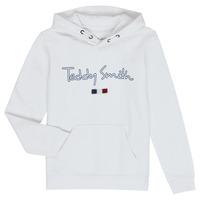 Abbigliamento Bambino Felpe Teddy Smith SEVEN Bianco