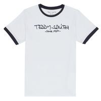 Abbigliamento Bambino T-shirt maniche corte Teddy Smith TICLASS 3 Bianco
