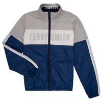Abbigliamento Bambino Giubbotti Teddy Smith HERMAN Grigio / Marine