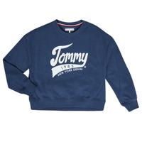 Abbigliamento Bambina Felpe Tommy Hilfiger KG0KG04955 Marine
