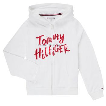 Abbigliamento Bambina Felpe Tommy Hilfiger KG0KG05043 Bianco