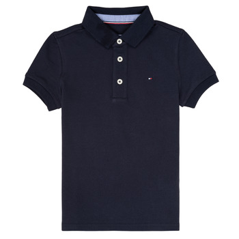 Abbigliamento Bambino Polo maniche corte Tommy Hilfiger KB0KB03975 Marine