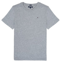 Abbigliamento Bambino T-shirt maniche corte Tommy Hilfiger KB0KB04140 Grigio