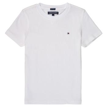 Abbigliamento Bambino T-shirt maniche corte Tommy Hilfiger KB0KB04140 Bianco