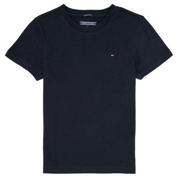 Abbigliamento Bambino T-shirt maniche corte Tommy Hilfiger KB0KB04140 Marine