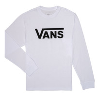 Abbigliamento Bambino T-shirts a maniche lunghe Vans BY VANS CLASSIC LS Bianco