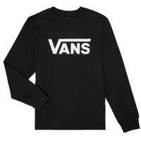Abbigliamento Unisex bambino T-shirts a maniche lunghe Vans BY VANS CLASSIC LS Nero