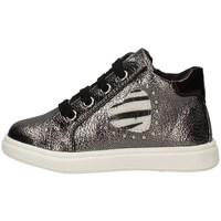 Scarpe Bambina Sneakers basse Asso AG-4801 PIOMBO