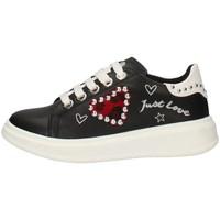 Scarpe Bambina Sneakers basse Asso AG-3316 NERO
