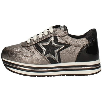 Scarpe Bambina Sneakers basse Asso AG-3250 PIOMBO