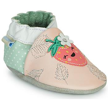 Scarpe Bambina Pantofole Robeez FRUIT'S PARTY Rosa / Verde