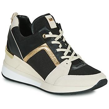 Scarpe Donna Sneakers basse MICHAEL Michael Kors GEORGIE Nero / Beige / Oro