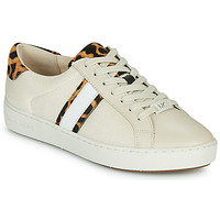 Scarpe Donna Sneakers basse MICHAEL Michael Kors IRVING STRIPE LACE UP Ecru / Leopard