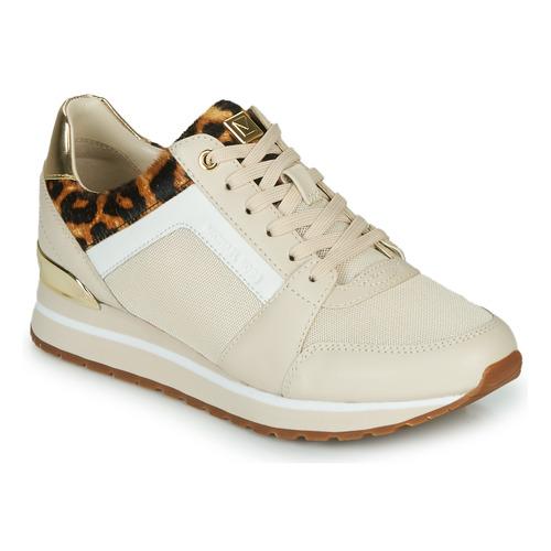Scarpe Donna Sneakers basse MICHAEL Michael Kors BILLIE Beige / Leopard