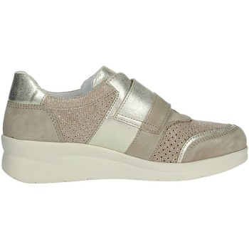 Scarpe Donna Sneakers alte Riposella 75372 BEIGE