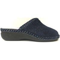 Scarpe Donna Pantofole Lina ATRMPN-14618 Blu