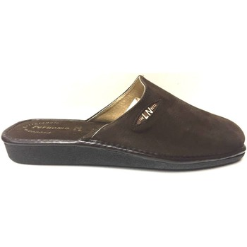 Scarpe Uomo Pantofole Lina ATRMPN-14621 Marrone