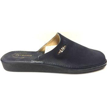 Scarpe Uomo Pantofole Lina ATRMPN-14622 Blu