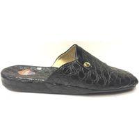 Scarpe Uomo Pantofole Lina ATRMPN-14632 Nero
