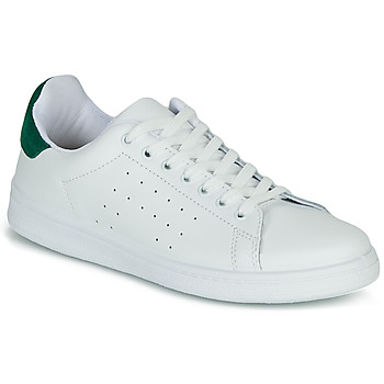 Scarpe Donna Sneakers basse Yurban SATURNA Bianco / Verde