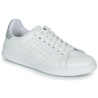 Scarpe Donna Sneakers basse Yurban SATURNA Bianco / Argento