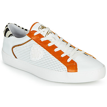 Scarpe Donna Sneakers basse Philippe Morvan MADOX Bianco / Rosso