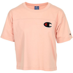 Abbigliamento Donna T-shirt maniche corte Champion Crewneck T-Shirt Rosa
