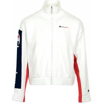 Abbigliamento Donna Giacche sportive Champion Full Zip Sweatshirt Wn's Bianco