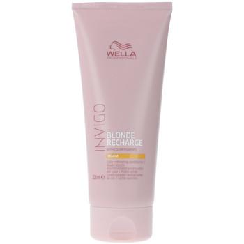 Bellezza Maschere &Balsamo Wella Invigo Blonde Recharge Conditioner warm  200 ml