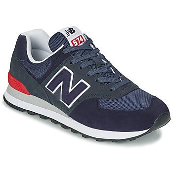Scarpe Sneakers basse New Balance 574 Blu