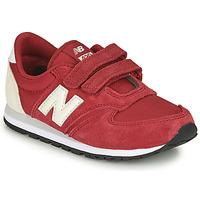 Scarpe Unisex bambino Sneakers basse New Balance 420 Rosso