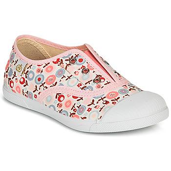 Scarpe Bambina Sneakers basse Citrouille et Compagnie RIVIALELLE Rosa / Multicolore
