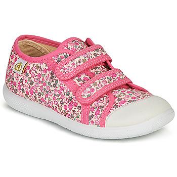 Scarpe Bambina Sneakers basse Citrouille et Compagnie GLASSIA Rosa / Multicolore