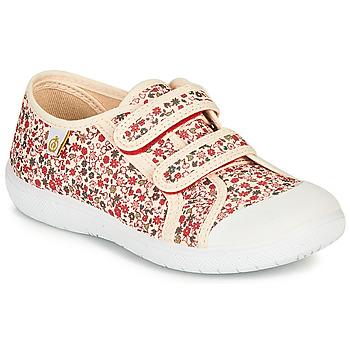 Scarpe Bambina Sneakers basse Citrouille et Compagnie GLASSIA Ecru / Multicolore