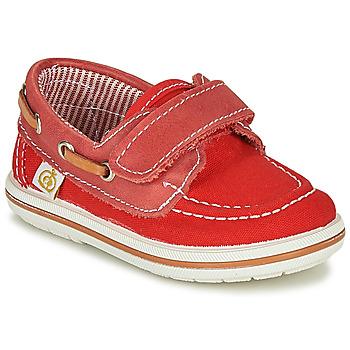 Scarpe Bambino Scarpe da barca Citrouille et Compagnie GASCATO Rosso
