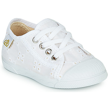 Scarpe Bambina Sneakers basse Citrouille et Compagnie MALIKA Bianco