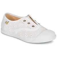 Scarpe Bambina Sneakers basse Citrouille et Compagnie RIVIALELLE Bianco