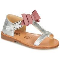 Scarpe Bambina Sandali Citrouille et Compagnie MELINDA Rosa / Oro