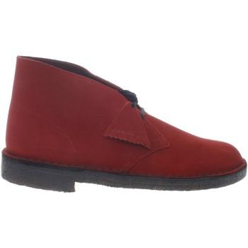 Scarpe Uomo Stivaletti Clarks 147081-UNICA - Desert Boot  Rosso